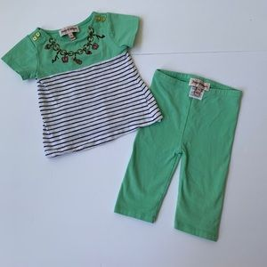 Juicy Couture 3/6 month 2-piece outfit